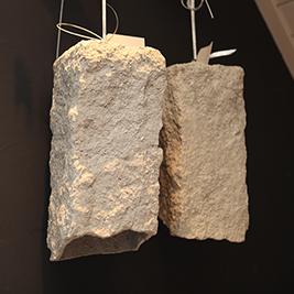 hangende betonlampjes stout